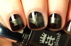 The Nailasaurus: Holy Nail Art, Batman! Uk Nails, City Nails, Hair And Nails, Batman Nail Art, Geek Movies, Nail Art Blog, Nail Polish Art, Fancy Nails, Creative Nails