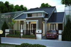 gambar desain rumah tampak depan modern minimalis Makassar Gowa Takalar