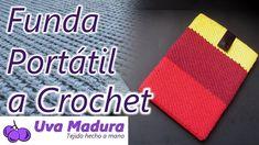 Crochet Art, Love Crochet, Canal E, Crochet Designs, Drink Sleeves, Hand Knitting, Addiction, Card Holder, Youtube
