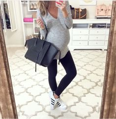 3902382b1e0ec A roundup of my recent fall looks... Casual Pregnancy Outfits
