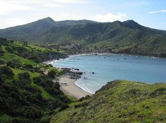 two harbors catalina   stay here this weekend! Camped on the beach, paradise!