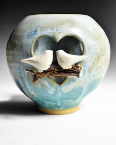 Love Birds Luminary
