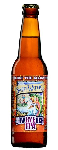 Congratulations to #SweetWater ... Sweetwater Brewing Wins Gold at Great American Beer Festival. The SweetWater team was presented with a gold medal in the Rye Beer category for their LowRYEder India Pale Ale.