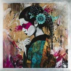 """Indocea   Sublimation print on 24"""" x 24"""" aluminium plate   Fin DAC   Flickr"""