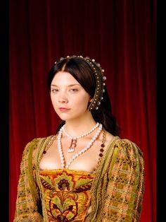 Natalie Dormer as the ill-fated Anne Boleyn on Showtime's The Tudors
