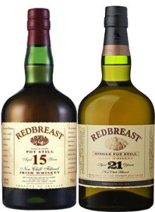 Caskers Selection: Redbreast 15 Year Old & 21 Year Old Single Pot Still Irish Whiskey Good Whiskey, Cigars And Whiskey, Scotch Whiskey, Bourbon Whiskey, Whiskey Bottle, World Of Whisky, Whiskey Lullaby, Irish Beer, Pot Still