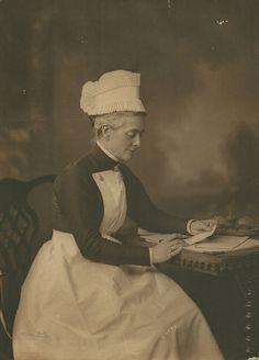 Unidentified Nursing Sister Cambridge.