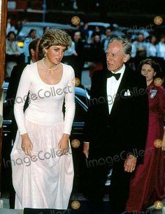 Princess Diana London | Princess Diana at the Toscanini Memorial Concert the Royal Albert Hall ...