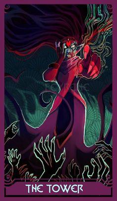 The Tower Tarot, She Ra Princess Of Power, A Silent Voice, Tarot Decks, Tarot Cards, Cool Art, Fandoms, Lesbians, Architectural Sketches