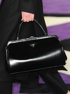 le sigh…the perfect Prada bag.    Prada Fall 2012 / doctors bags are chic for fall