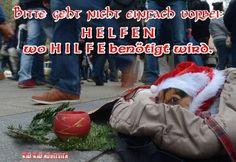 """Bitte geht nicht einfach vorbei: H E L F E N wo H I L F E benötigt wird.  Im Winter kämpfen #Obdachlose nicht nur gegen den #Hunger, sondern auch gegen die #Kälte.  In der heutigen Zeit stoßen diese eher auf """"eiskalte"""" Nächstenliebe, obwohl so mancher unverschuldet in diese Situation geraten ist. Viele von ihnen haben als einzigen treuen Gefährten einen Hund an ihrer Seite, Tag und Nacht auf der Straße in der Kälte. Laufen Sie nicht einfach vorbei und schenken Sie diesen Menschen  Freude –…"""