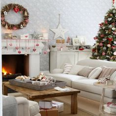 Want To Create A Christmas Themed Living Room? We Pick Our Favourite Christmas  Living Room Decorating Ideas, Perfect For A Festive Look