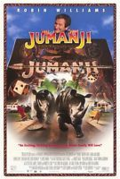 """JUMANJI"" Movie Poster [Licensed-NEW-USA] 27x40"" Theater Size (Robin Williams)"