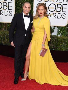 Jennifer Lopez and Casper Smart on the red carpet together in 2016.