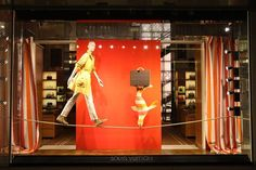 Faye loves her job working on the Louis Vuitton windows, especially at…