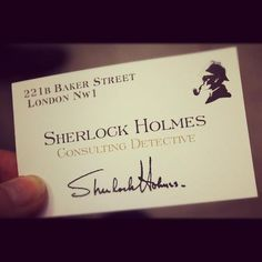 SHERLOCK. only one in the world-he invented the position-consulting detective-doesn't get paid either!