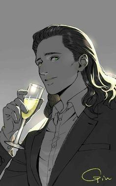 Imagine Loki watching you as you danced at an Asgardian party