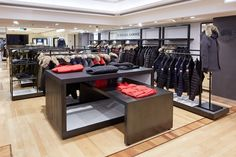 Canada Goose Shop-In-Shop by David A. Levy & Associates, Harrods / London – UK » Retail Design Blog