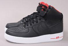 Nike Air Force 1 High Premium / http://www.queens.cz/wear/31496/2/nike-air-force-1-high-premium-black-black/
