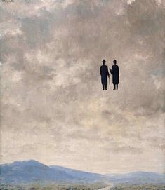 The treachery of images: The art of conversation by René Magritte, 1963 Rene Magritte, Magritte Paintings, Art Paintings, Painting Art, Mc Escher, Wassily Kandinsky, Salvador Dali, Surreal Art, Les Oeuvres