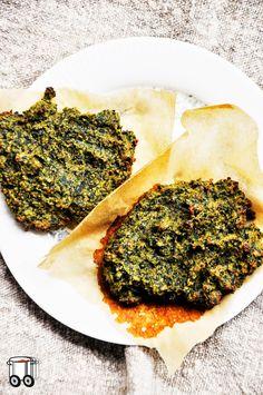 Szybko Tanio Smacznie: Beztłuszczowe placuszki gryczane ze szpinakiem (bez glutenu, bez laktozy)
