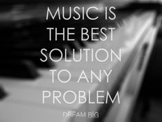 Music is the best solution to any problem. #Attitude