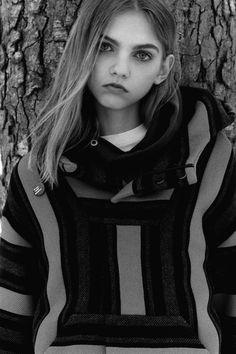 Molly Bair by James Robjant (Fat Magazine)