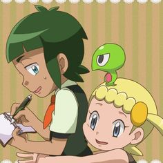 Sawyer and Bonnie ^^❤ Sawyer Pokemon, My Pokemon, Little Sisters, Getting Old, Cute, Anime, Fictional Characters, Drawings, Getting Older
