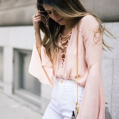From your favorite style bloggers to the top fashion sites you shop, bell sleeves have been in heavy rotation this Summer.