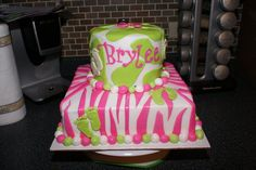 Animal print baby shower cake Party girl cakes by jennifer on facebook!!! Look me up!!