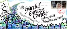Cute entree for The Graceful Envelope Contest (by Cindy Rudolph)