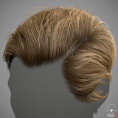 ArtStation - Realtime Hair Example, adam skutt