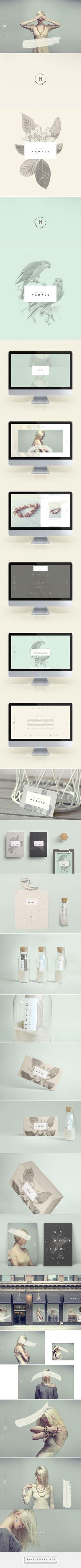 Créations Namale Branding by Phoenix the Creative Studio on Behance Corporate Branding, Logo Branding, Branding Agency, Graphic Design Branding, Corporate Design, Identity Design, Visual Identity, Packaging Design, Brand Identity