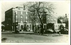 1918 PC-Hotel-James K Polk-Murfreesboro Tennessee