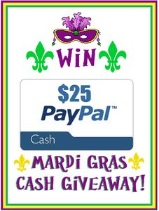 $25 PAYPAL CASH GIVEAWAY 3/5