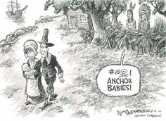 Immigration Cartoons: Anchor Babies