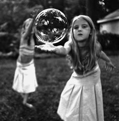 Child reaching out for Bubble ~Julie Blackmon Love Photography, Black And White Photography, Bubble Photography, Illusion Photography, Children Photography, Tv Movie, Bubble Fun, Looks Cool, Beautiful People