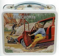 Vintage lunchbox - classics! - I had a Bionic Woman lunchbox, although it wasn't this one.