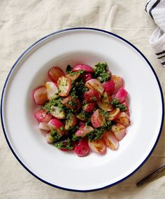 Pan-Seared Radishes with Miso Butter Recipe Recipe, maybe i'll try ...
