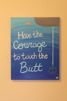 Finding Nemo Inspirational Canvas by ArtbyHannahBonacci on Etsy