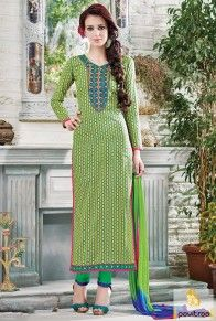 Multi Green Stylish Casual Suit  #monsoondress, #rainydress, #salwarsuits, #salwarkameez, #striaghtdress, #churidarsuits, #cottondress, #partyweardress, #partywearsalwarsuits, #embroiderydress, #embroiderysalwarsuits, #clothes, #fashion, #women #shopping, #greendress  http://www.pavitraa.in/salwar-suit.html  Call Us : +91-7698234040 (WhatsApp) Email _Id : info@pavitraa.in