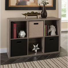 Decorative Storage Cube Bookcase 6 Cube Organizer, Cube Storage, Storage Bins, Storage Systems, Shoe Organizer, Storage Cabinets, Fabric Bins, Fabric Storage, Decorative Storage