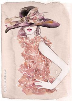 Alicia Malesani, fashion illustration, fashion, art, illustration, drawing, painting