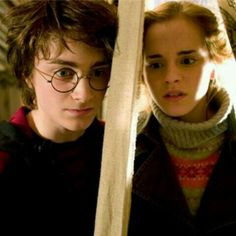 Some of these scenes really made it seem like Harry and Hermione were going to end up together!