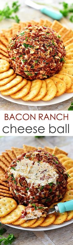 I love me a good cheese ball. Mmmmm I think it's the perfect party food to munch on. Last year I made a Jalapeño Bacon Cheese Ball for Christmas day and it was SO good! We enjoyed it all day long.  Since I love traditions I declared that day I would start making cheese... Read More »