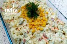 Yoğurtlu Patatesli Lahana Salatası Tarifi