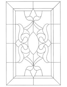 ★ Stained Glass Patterns for FREE ★ glass pattern 475 ★