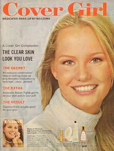 Cover Girl had some of my favorite ads. I love the idea of having the model of a magazine cover as the model for the ad with a magazine cover theme. Very original!     Free CoverGirl Eyeshadow http://CoverGirl.bestonlineproducts.net