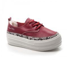 -45% Pantofi dama Piele Persse visinii cu talpa groasa Vans Authentic, Sneakers, Casual, Shoes, Fashion, Tennis, Moda, Slippers, Zapatos
