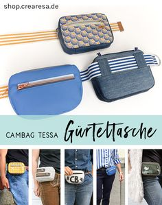 Cambag Tessa Gürteltasche Schnittmuster 2019 cambag-guerteltasche The post Cambag Tessa Gürteltasche Schnittmuster 2019 appeared first on Bag Diy. Bag Patterns To Sew, Sewing Patterns, Diy Bags No Sew, Diy Sac, Hip Bag, Brown Bags, Belts For Women, Bag Making, Bag Accessories